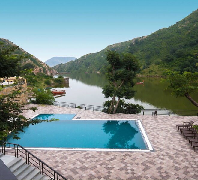 via lakhela resort&spa in kumbhagarh